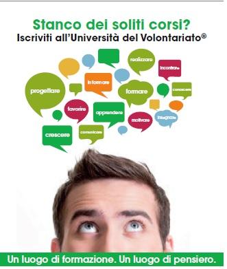 Università del Volontariato di Bologna: aperte le candidature al Percorso Completo 2018-2019