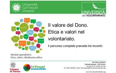 UnivolTreviso – Il valore del Dono