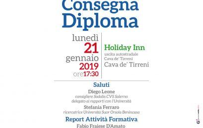 Cerimonia di consegna Diploma – Univol Salerno